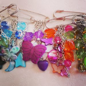 Bag Charms / Scarf Pins