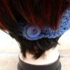 Dark Blue Crochet Headband or Neckwarmer (Handmade by Lila) LIL155 R65 (2)
