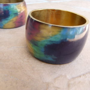 Large Multicolour Bangle