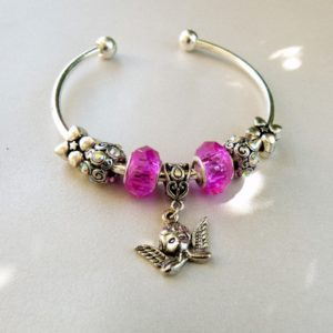 Angel Cuff Bracelet at www.lillarosegifts.com