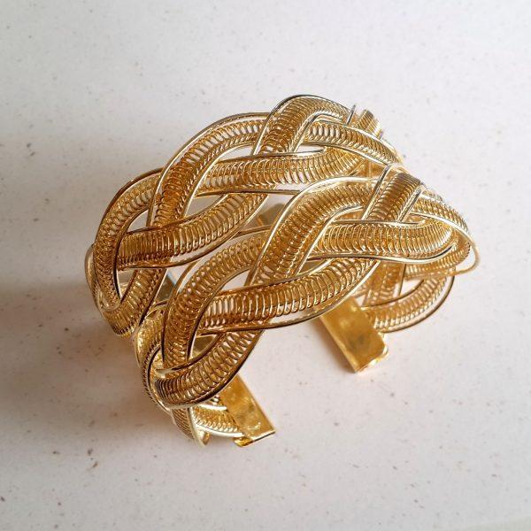 Large Gold Style Cuff