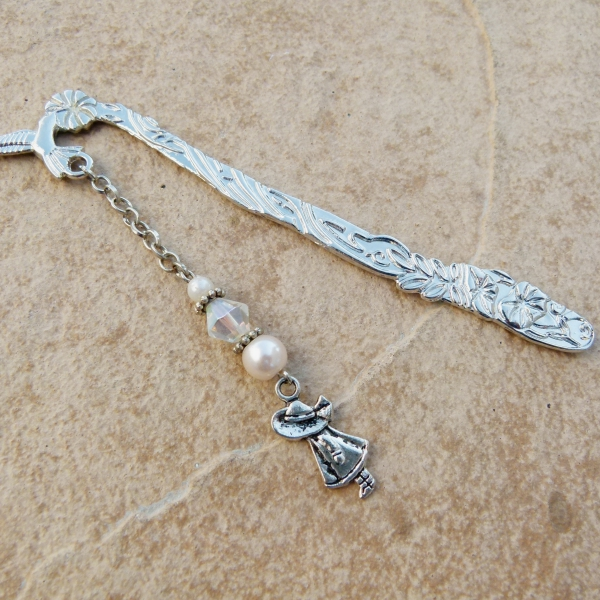 silver-bookmark-with-girl-charm-crystal