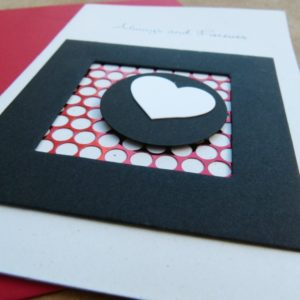 Always & Forever Greeting Card with Envelope Close Up