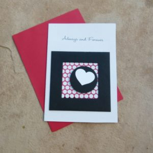 Always & Forever Greeting Card with Envelope