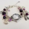 Chunky Armour of God Watch with Purple