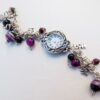 Chunky Watch Hope Love Joy with Purple
