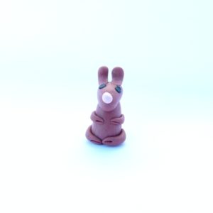 Rabbit Mini Figurine Style 1 Front