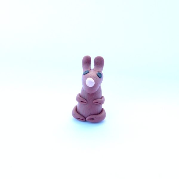 Rabbit Mini Figurine Style 1 Front