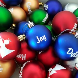 Personalised Christmas Baubles by Lilla-Rose Gifts 'n More