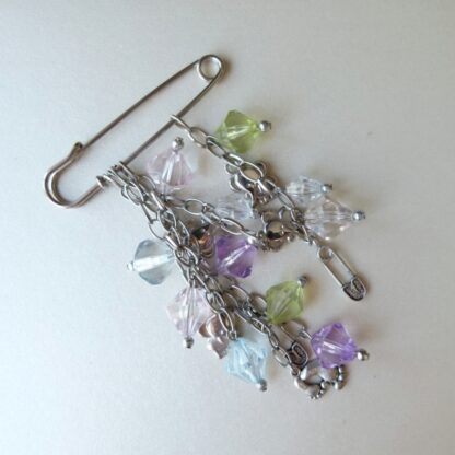 Baby Bag Charm with Assorted Charms and Colours
